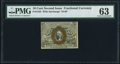 Fractional Currency:Second Issue, Fr. 1245 10¢ Second Issue PMG Choice Uncirculated 63.. ...