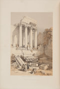Books:Travels & Voyages, David Roberts. The Holy Land, Syria, Idumea, Arabia, Egypt, & Nubia. After Lithographs by Louis Haghe. From Dr... (Total: 3 Items)