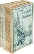 Books:Mystery & Detective Fiction, A[rthur] Conan Doyle. The Adventures of Sherlock Holmes.London: George Newnes, July 1891-June 1892. Original monthl...