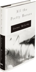 Books:Literature 1900-up, Cormac McCarthy. All the Pretty Horses. New York: Alfred A. Knopf, 1992. First edition, signed by the author on ...