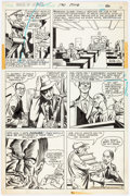 """Original Comic Art:Panel Pages, Paul Kirchner and Tex Blaisdell House of Secrets #120 """"The Right Demon Could Do It!"""" Near-Complete Story Original ... (Total: 6 Original Art)"""