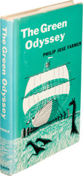 Books:Science Fiction & Fantasy, Philip José Farmer. The Green Odyssey. New York: Ballantine Books, [1957]. First edition, inscribed by the aut...