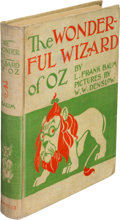 Books:Children''s Books, L. Frank Baum. The Wonderful Wizard of Oz. With Pictures byW. W. Denslow. Chicago: Geo. M. Hill Co., 1900. First ed...