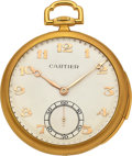 Timepieces:Pocket (post 1900), C.H. Meylan, Gold Minute Repeater, circa 1920. ...
