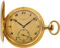 Timepieces:Pocket (post 1900), Patek Philippe & Co., Fine Gold Hunters Case For Beyer Zurich, circa 1915. ...