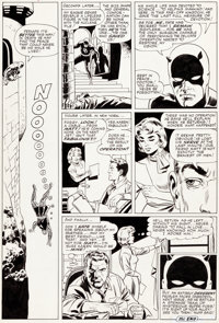 Wally Wood and Bob Powell Daredevil #9 Story Page 20 Original Art (Marvel, 1965)