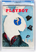 Magazines:Miscellaneous, Playboy #5 (HMH Publishing, 1954) CGC FN 6.0 Off-white to white pages....