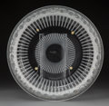 Decorative Arts, French:Other , A Lalique Marguerites Pattern Crystal Bowl in Original Fitted Box, post-1945. Marks: Lalique, (R in circle),...