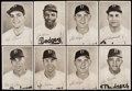 Baseball Collectibles:Photos, 1949 Brooklyn Dodgers Photo Pack (25) with Original Envelope....