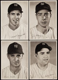 Baseball Collectibles:Photos, 1947 New York Yankees Team Picture Pack Complete Set (25) With Original Envelope. ...