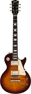 Musical Instruments:Electric Guitars, Circa 2006 Gibson Les Paul Sunburst Solid Body Electric Guitar,Serial # CR96040. . ...