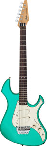 Musical Instruments:Electric Guitars, Circa 1985 Fender Performer Emerald Solid Body Electric Guitar, Serial # E504721....