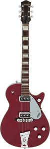 Musical Instruments:Electric Guitars, 1956 Gretsch 6131 Jet Firebird Red Solid Body Electric Guitar,Serial # 21133....