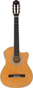 Musical Instruments:Acoustic Guitars, Esteban G-100 Natural Classical Guitar....