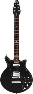 Musical Instruments:Electric Guitars, 1995 Guild Brian May BHM Black Solid Body Electric Guitar, Serial # BHM30092.. ...