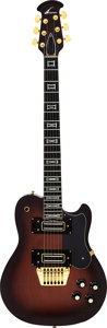 Musical Instruments:Electric Guitars, Circa 1978 Ovation UK II Solid Body Electric Guitar, Serial # E 12012....
