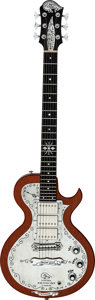 Musical Instruments:Electric Guitars, Teye Electric Gypsy Natural Solid Body Electric Guitar, Serial # T 00004....