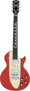 Musical Instruments:Electric Guitars, 1996 Gibson Les Paul 1960 Corvette Red Solid Body Electric Guitar, Serial # VIN-9500.... (Total: 2 )