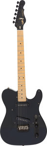 Musical Instruments:Electric Guitars, 1985 G & L Broadcaster Black Solid Body Electric Guitar, Serial# BC00726....