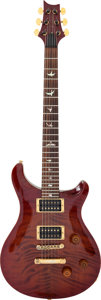 Musical Instruments:Electric Guitars, 1990 Paul Reed Smith (PRS) Limited Edition Redwood Solid BodyElectric Guitar, Serial # 09969.. ...