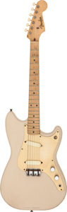 Musical Instruments:Electric Guitars, 1958 Fender Duo-Sonic Desert Sand Solid Body Electric Guitar, Serial # 31035....
