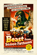 Movie Posters:Science Fiction, The Beast from 20,000 Fathoms (Warner Brothers, 1953). Fin...