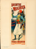 Movie Posters:Miscellaneous, Absinthe Mugnier by Lucien Lefevre (1895). Fine/Very Fine....