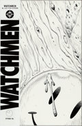 Original Comic Art:Covers, Dave Gibbons Watchmen #1 Cover Original Art (DC, 1986)....
