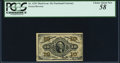 Fractional Currency:Third Issue, Fr. 1255 10¢ Third Issue PCGS Choice About New 58.. ...