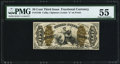 Fractional Currency:Third Issue, Fr. 1346 50¢ Third Issue Justice PMG About Uncirculated 55.. ...