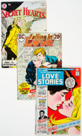 Golden Age (1938-1955):Romance, Golden to Bronze Age Romance Group (Various Publishers, 1953-72) Condition: Average FN/VF.... (Total: 6 )