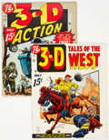 Magazines:Miscellaneous, Assorted 3-D Magazines Group of 2 (Atlas, 1954).... (Total: 2 Comic Books)