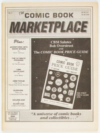 Comic Book Marketplace #2 (Gary Carter/Gemstone Publishing, 1991) Condition: VF/NM