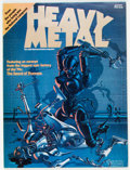 Magazines:Science-Fiction, Heavy Metal #1 (HM Communications, 1977) Condition: VF+....
