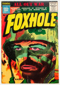 Golden Age (1938-1955):War, Foxhole #4 (Mainline Publications, 1955) Condition: FN....
