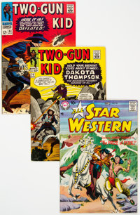 Two-Gun Kid/All Star Western Group of 4 (Marvel, 1958-66) Condition: Average FN.... (Total: 4 Comic Books)