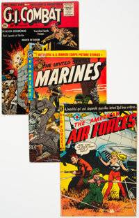 Golden Age War Comics Group of 7 (Various Publishers, 1950s) Condition: Average FN.... (Total: 7 Comic Books)