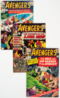 Silver Age (1956-1969):Superhero, The Avengers #3, 5, and 7 Group (Marvel, 1963-64) Condition: Average VG+.... (Total: 3 Comic Books)