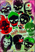 "Movie Posters:Action, Suicide Squad (Warner Brothers, 2016) Rolled, Near Mint/Mint. OneSheet (27"" X 40"") DS, Advance, Skull Style. Action...."
