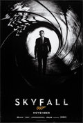 """Movie Posters:James Bond, Skyfall (MGM, 2012) Rolled, Very Fine. One Sheet (27"""" X 40"""") DS Advance. James Bond...."""