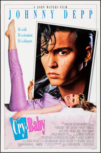"""Cry-Baby (Universal, 1990) Rolled, Very Fine-. One Sheet (27"""" X 41"""") DS. Comedy"""