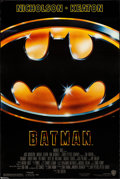 "Movie Posters:Action, Batman (Warner Brothers, 1989) Rolled, Very Fine. One Sheet (27"" X 40.5"") SS. Action...."
