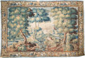Textiles, A Monumental Flemish Tapestry, 17th-18th century. 111-1/2 x 162 inches (283.2 x 411.5 cm). PROPERTY FROM THE COLLECTION OF...