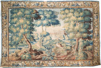A Monumental Flemish Tapestry, 17th-18th century 111-1/2 x 162 inches (283.2 x 411.5 cm)  PROPERTY FROM THE
