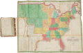 Books:Maps & Atlases, [Anthony Finley]. New American Atlas. Philadelphia: Published by Anthony Finley, 1826. First edition, pocket issue....