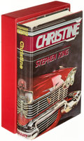 Books:Horror & Supernatural, Stephen King. Christine. West Kingston: [1983]. Grantedition, limited and signed....