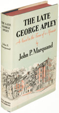 Books:Literature 1900-up, John P. Marquand. The Late George Apley. Boston: 1937. First edition, first printing.. ...