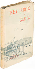 Books:Mystery & Detective Fiction, Maxwell Anderson. Key Largo. Washington, D. C.: 1939. Firstedition, inscribed....