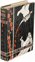 Books:Mystery & Detective Fiction, Frederick Irving Anderson. Book of Murder. New York: 1930.First edition....