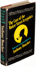 Books:Mystery & Detective Fiction, Anthony Boucher. The Case of the Baker Street Irregulars. New York: 1940. First edition, inscribed, with an adva... (Total: 2 Items)
